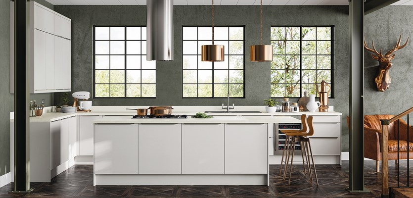 Rixonway Mystic Grey kitchen